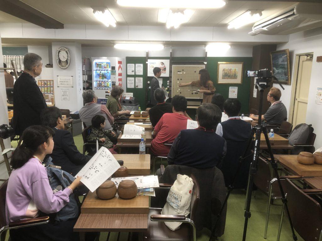 囲碁教室の風景