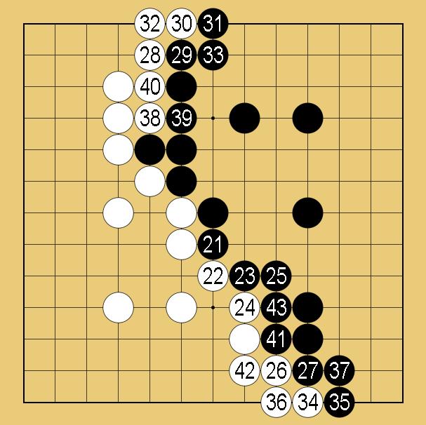 13路盤の棋譜